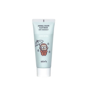 Skin79 - Nawilżająca maseczka w kremie Animal Color Clay Mask Dry Monkey - 70 ml