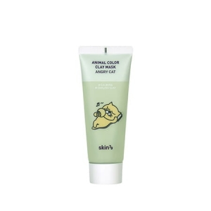 Skin79 - Kojąca maseczka w kremie Animal Color Clay Mask Angry Cat - 70 ml