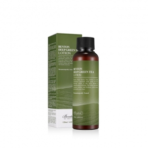 Benton - Lekka emulsja Deep Green Tea Lotion - 120 ml
