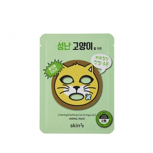 Skin79 - Kojąca maska w płacie Animal Mask - For Angry Cat 23 g