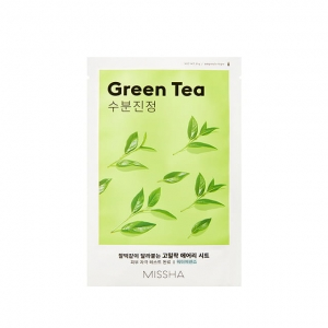 Missha - Airy Fit Sheet Mask (Green Tea) - 19 g