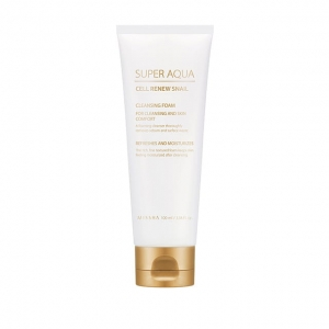 Missha - Super Aqua Cell Renew Snail Cleansing Foam - 100 ml