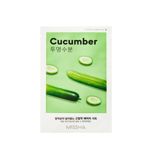 Missha - Airy Fit Sheet Mask (Cucumber) - 19 g